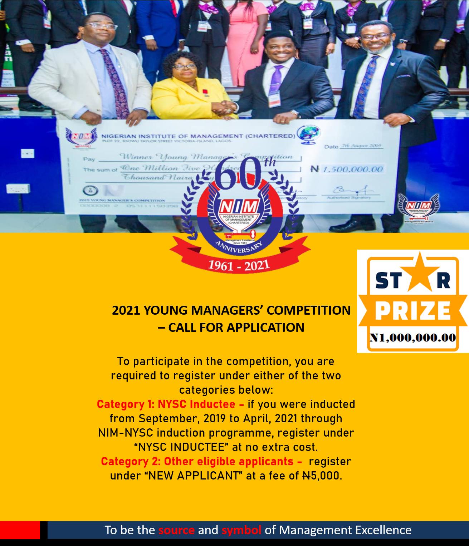 YMC 2021 – NYSC Inductee