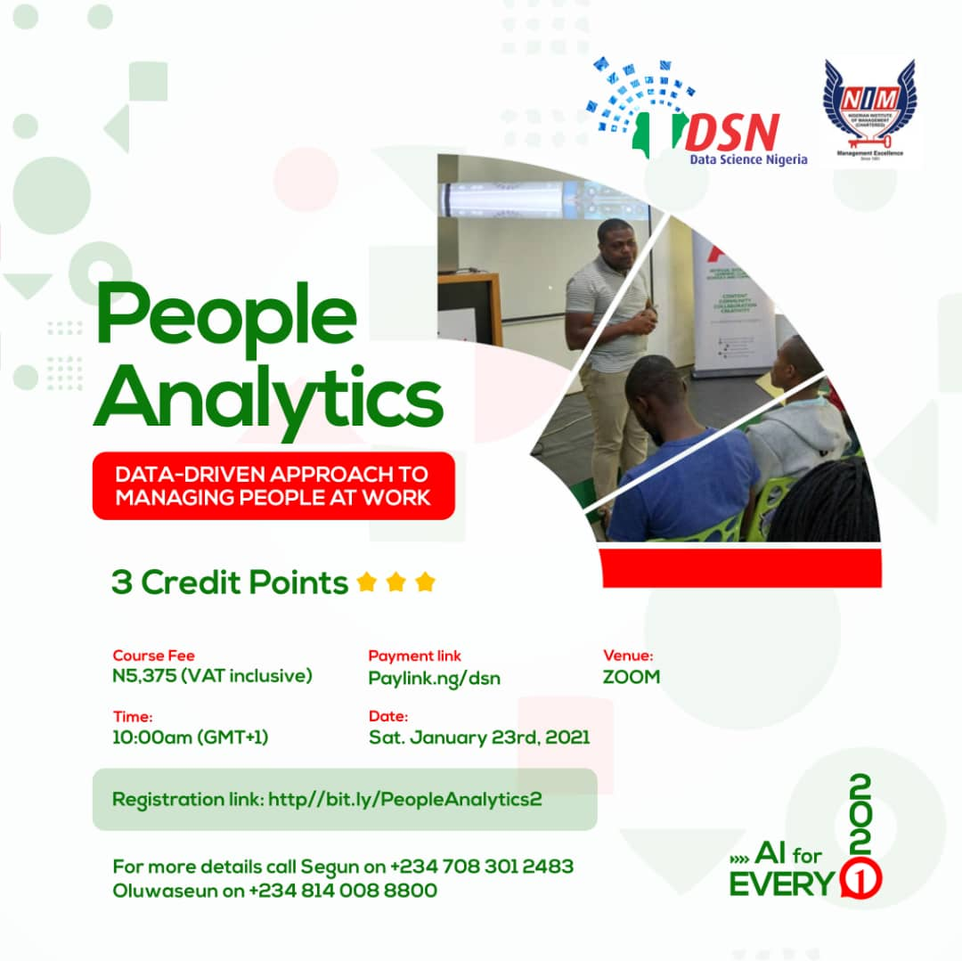 People Analytics Course.