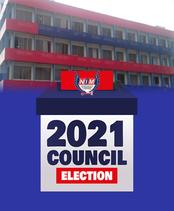 NIM(Chartered) 2021 COUNCIL ELECTION