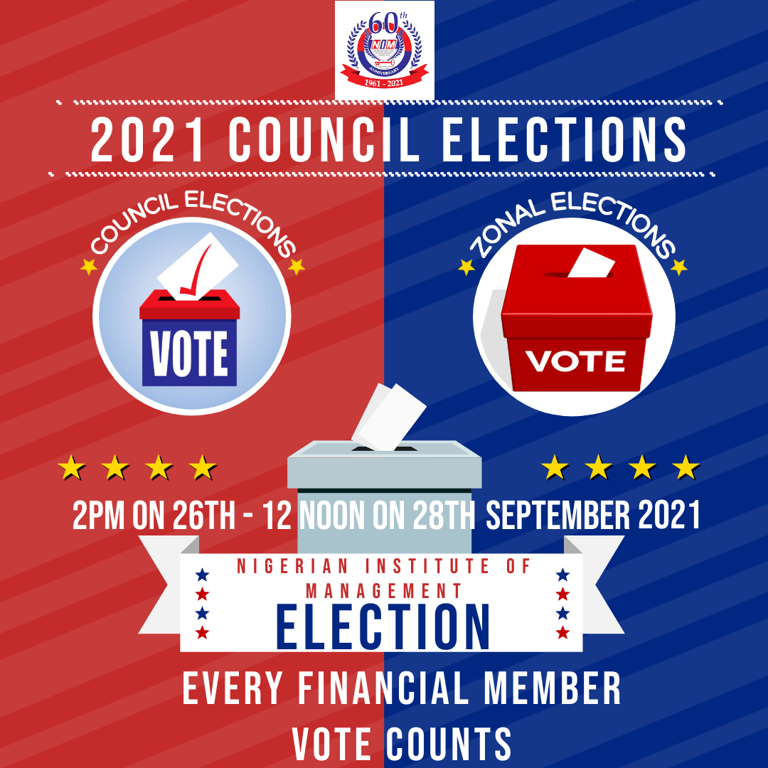 PROFILES OF CANDIDATES FOR NIM COUNCIL ELECTIONS